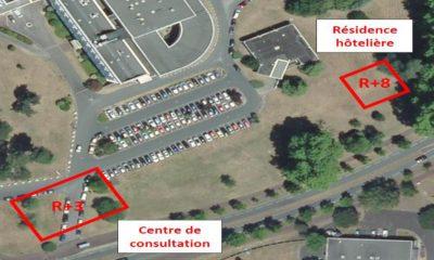 Centre De Consultation – Clinique Mutualiste Construction D'un Bâtiment R+3 Avec Parking De 154 Places – Pessac (33)